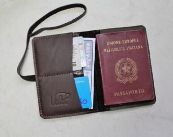 Leather Passport Cover - Leather Passport Wallet - Travel Wallet - Holiday Wallet- Travelling Wallet - Passport Holder - Passport Organizer.