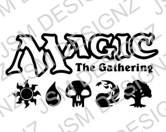 Free Shipping Magic the Gathering Decal
