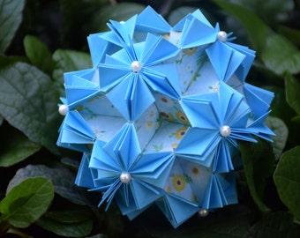 Origami Dahlia Kusudama Ball