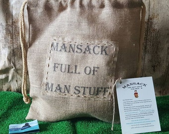 Postage Included. Mansack full of Manstuff