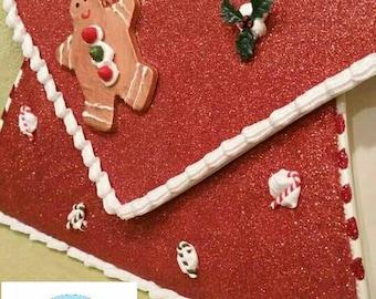 Sweet christmas Gingerbread bag