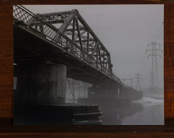 Foggy Bridge 2 8x10 photo print