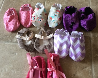 Discounted baby shoes, baby shoes, baby booties, handmade baby shoes