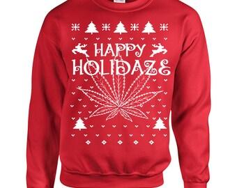 Marijuana sweater   Etsy