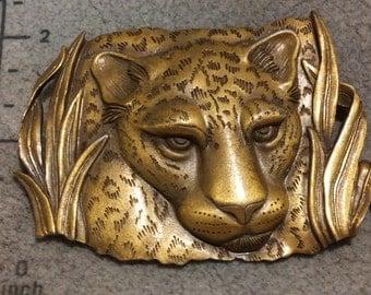 1986 JJ Lioness, Tiger, Panther, Cheetah, Leopard Brooch