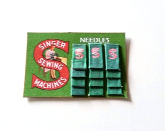 Singer Sewing Needles Sales Display