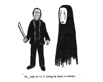Awkward Horrors - Jason & No Face