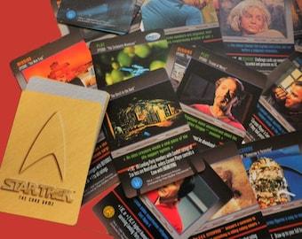 Vintage STAR TREK cardgame 1996