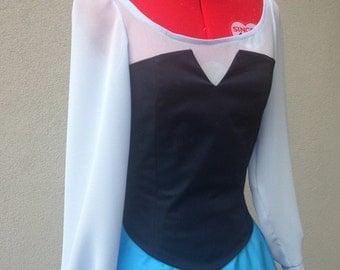 Ariel Disney Little Mermaid blue dress