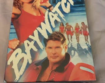1991-1992 Popular TV Series Baywatch Season 1; David Hasselhoff as Mitch Buchannon
