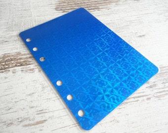 A6 dashboard sparkling blue