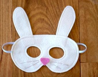 Bunny / Rabbit Mask - Felt Animal Mask