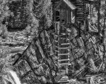 Photo Art - Mountain Photography - Black & White