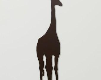 Giraffe 2 Silhouette - Metal Wall Art - With Hanger - (MM4---)