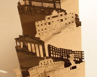 Rome Postcard, Pocket-Cities - Rome postcard, Pocket cities