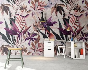 Repositionable Wallpaper - Peel & Stick - Fabric Wallpaper - Removable Wallpaper - Reusable - Wall Mural - Self Adhesive Fabric - SKU: BOTEX
