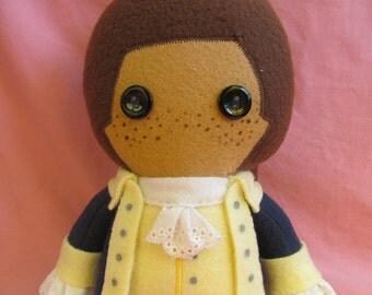 John Laurens Hamilton Fleece Plush Doll