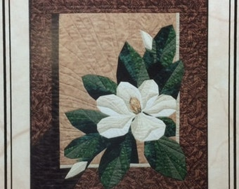 MAGNOLIA Foundation Paper Pieced Art Quilt Pattern by The Designer's Workshop