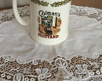 Lord Nelson Vintage Colman's Mustard Tankard