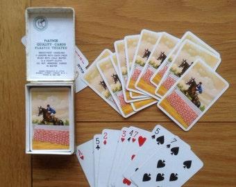 Vintage playing cards by Piatnik