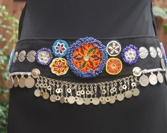 Tribal Fusion ATS, Belly Dance, Medallian, Disc, Belt, Costume