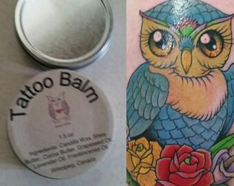 Tattoo Balm - Tattoo Salve - Tattoo Healing Balm  - Tattoo Recovery - Tattoo Sun Protection - Tattoo After Care - Everything Healing Balm