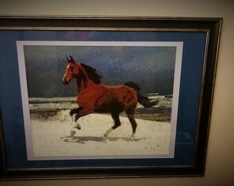 "Diamond embroidery ""Horse"""