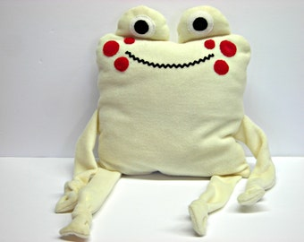Child frog cushion / pillow