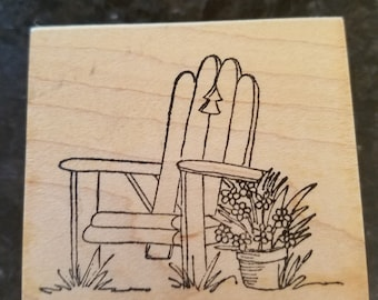 Adirondack Chair Stamp