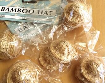 Mini Bamboo Hat
