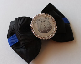 Thin Blue Line- Law Enforcement Inspired Bow