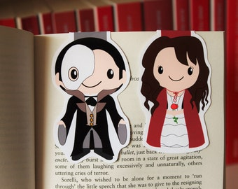 Set of Phantom of the Opera Bookmarks