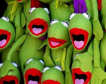 Frogs, DIGITAL Download, Printable Art, Kids Room Decor, Green, Fun Art, Carnival Art, Kitsch, Quirky, Photography, Nursery Art