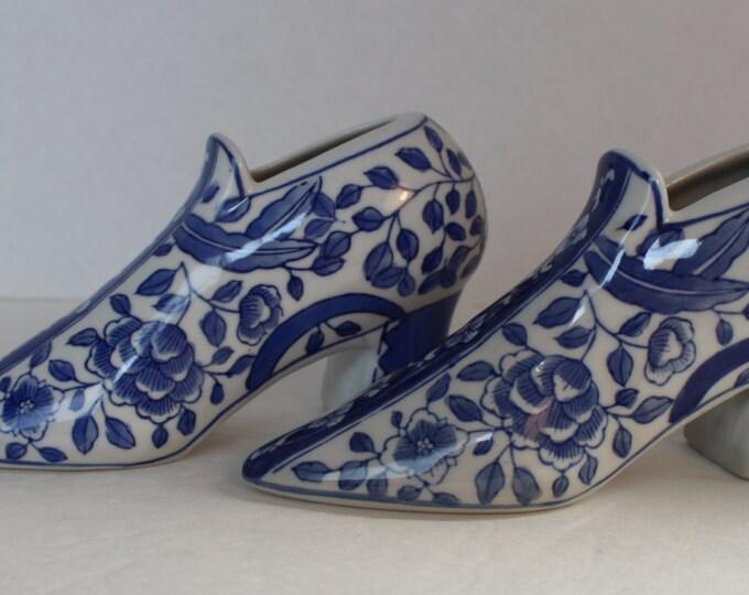 Vintage Shoe Planters, Set of 2, Succulent Planters