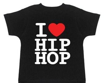 Hip hop toddler tee