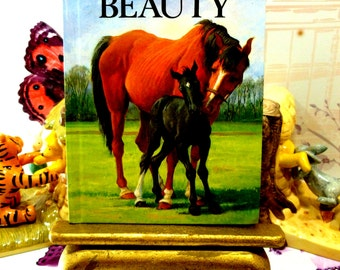 Black Beauty Vintage Ladybird Book Well Loved Tales Childrens Classics First 1st Edition 1986
