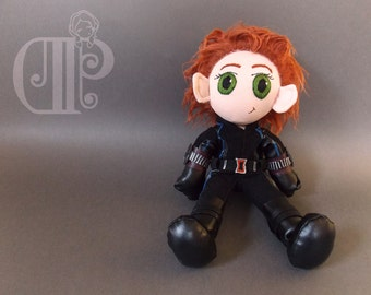 Black Widow The Avengers Plush Doll Plushie Toy