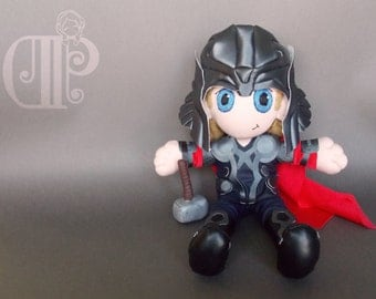 Thor The Avengers Plush Doll Plushie Toy