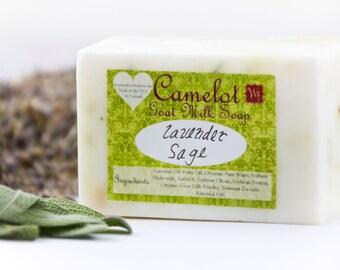 Camelot Goat Milk Soap - Lavender Sage (4oz)