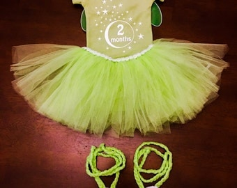Tinkerbell Inspired Outfit Baby Outfit