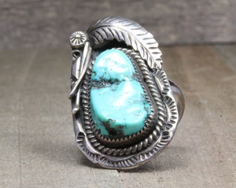 Estate, Gorgeous Turquoise Ring