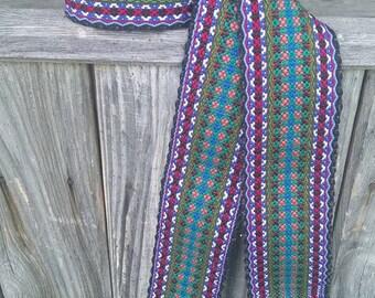 SALE!!! Ukrainian Woven Belt, Ethnic Sash, Woven Belt for Ukrainian Embroidery shirt, Ethnic sash, Bukovynska Krajka, Ukrainian belt