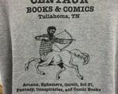 CENTAUR BOOKS & COMICS t-shirt