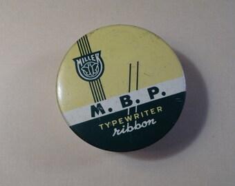 MBP Typewriter Ribbon Tin