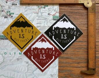Vinyl Sticker - Adventure - Matte