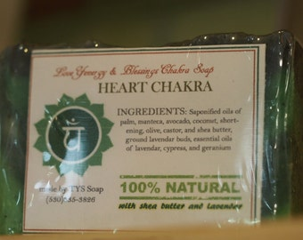 Heart Chakra Soap - Handcrafted All Natural Soap