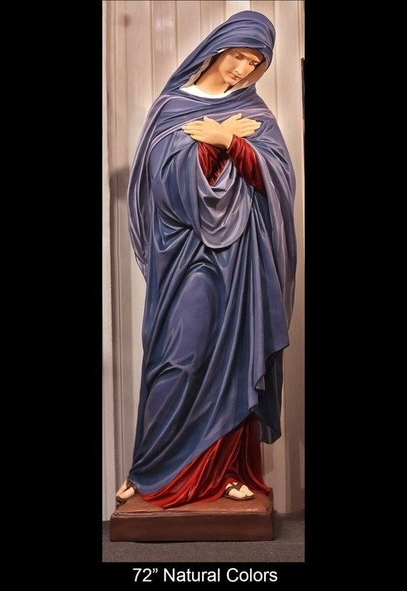"Mother of Sorrows 72"" Fiberglass Statue (SALE)"