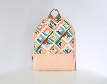 NEW, laptop bag, canvas backpack, pastel bag, laptop backpack, canvas rucksack, cotton canvas bag, cotton canvas backpack