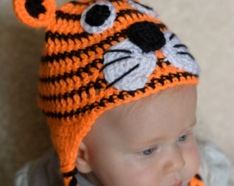 Soft Tiger Hat