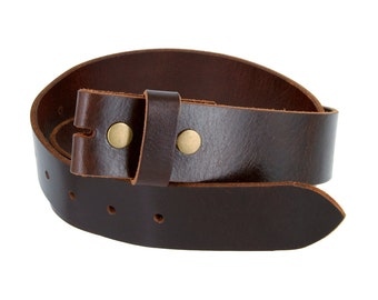 "Brown Leather Full Grain Belt 1.5""-Men's Belt Woman-Supple Leather Snap-on Belt Strap 1-1/2""-Vintage Style-Antique Brass Buckle-His Her Gift"